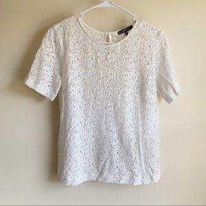 Brixon Ivy Tops - Brixon Ivy Stitch Fix Lace Crochet Career Blouse